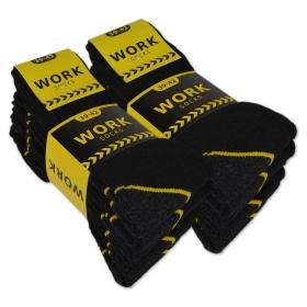 """zwarte """"Work"""" Werksokken """"NAFT"""" 5-pack"""