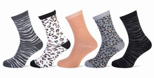 Ladies sock fantasy 5-pack